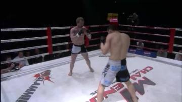 Богдан Кристеа vs Свен Вегшайдер, M-1 Challenge 01
