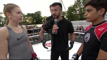 Манжит Колекар vs Ксения Лачкова, Fightspirit Championship 8