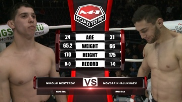 Николай Нестеров vs Мовсар Халухаев, Road to M-1
