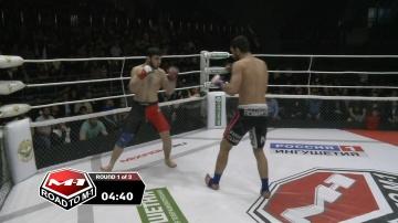 Мартун Межлумян vs Ваха Шанхоев, Road to M-1