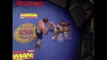 Рамазан Ахадуллаев vs Питер Малдер, M-1 MFC - Middleweight GP