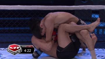 Valentin Orlov vs Abdulmalik Gadzhi-Chalambiev, Road to M-1 - Saint Petersburg 3
