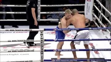 Яне Тулиринта vs Фарух Лакебир, M-1 Challenge 10