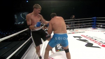 Ахмед Султанов vs Александр Волков, M-1 Selection 2009 4