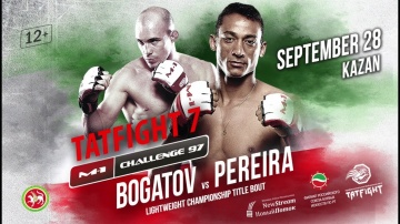 M-1 Challenge 97&Tatfight 7: Bogatov vs Pereira promo, September 28, Kazan, Russia