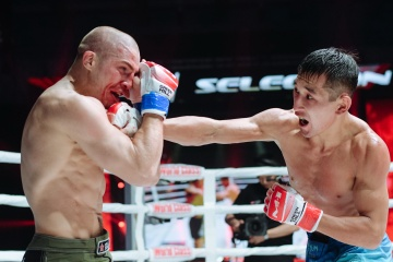 Глеб Хабибуллин vs Сабит Жусупов, M-1 Challenge 105