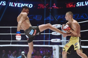 Мичел Сильва vs Алексей Ильенко, M-1 Challenge 96
