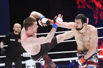 Сергей Фалей vs Лом-Али Нальгиев, M-1 Challenge 77