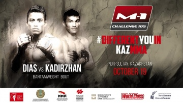 Rafael Diaz vs Kadyrzhan Abylaikhan, fight promo at M-1 Challenge 105, 19 Oct