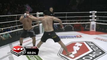 Юрий Проценко vs Иса Плиев, Road to M-1