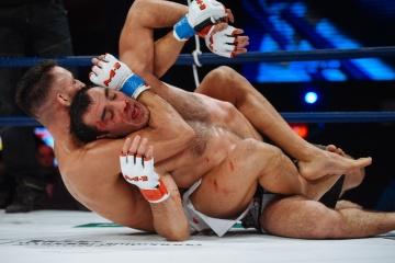 Энок Солвес Торрес vs Ибрагим Тебилов, M-1 Challenge 55