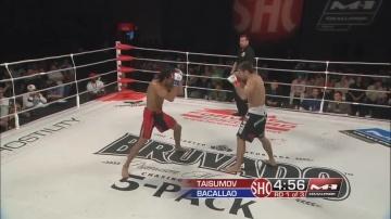 Маирбек Тайсумов vs Джош Бакаллао, M-1 Challenge 26