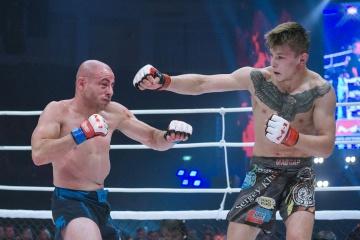 Крис Келадес vs Сергей Клюев, M-1 Challenge 97&Tatfight 7