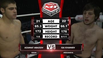 Azamat Abazov vs Isa Khaniev, Road to M-1