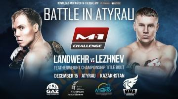 M-1 Challenge Battle in Atyrau promo, December 15, Kazakhstan