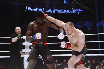 Эль Анвар Бакари vs Александр Попов, M-1 Challenge 90