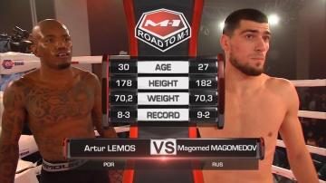 Артур Лемос vs Магомед Магомедов, Road to M-1: Chelyabinsk
