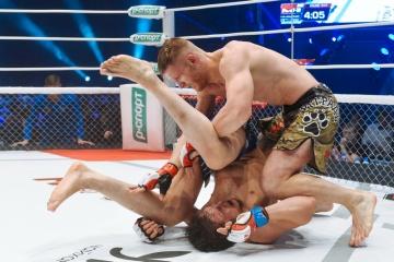 Сарвар Исхаков vs Василий Зубков, M-1 Challenge 63