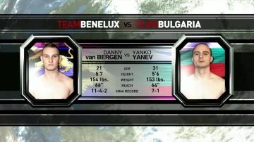 Янко Янев vs Денни Ван Берген, M-1 Challenge 15