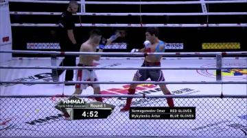 Омар Нурмагомедов vs Артур Микитенко, WMMAA Macau 2016