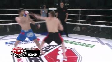 Ибрагим Мустапаев vs Захир Ажигов, Road to M-1: Ingushetia 3