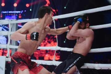 Beno Adamia vs Abylaikhan Kadyrzhan, M-1 Challenge 101